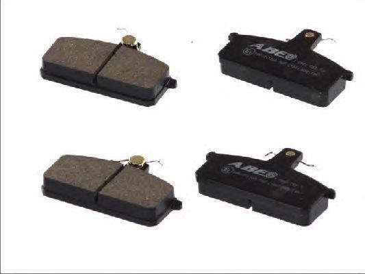 Тормозные колодки ABE C18013ABE