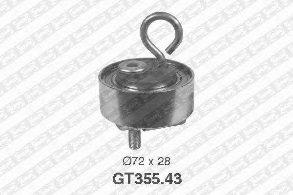 Натяжной ролик ремня ГРМ SNR GT355.43