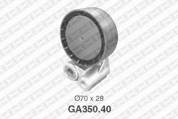 Натяжной ролик поликлинового ремня SNR GA350.40
