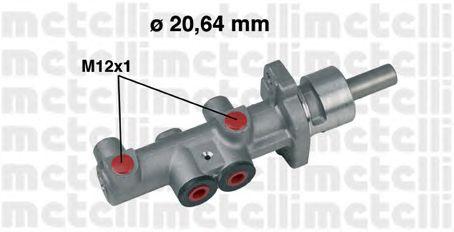Главный тормозной цилиндр METELLI 05-0404