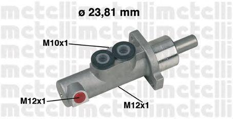 Главный тормозной цилиндр METELLI 05-0441