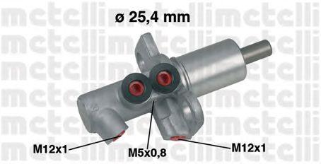 Главный тормозной цилиндр METELLI 05-0458