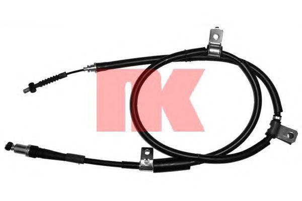 Трос ручника NK 903406