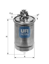 Топливный фильтр UFI 24.418.00