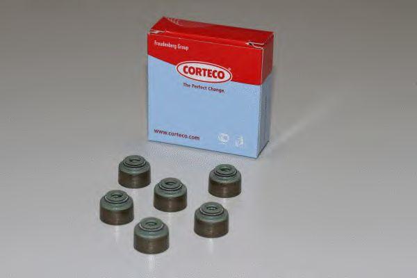 Комплект сальников клапанов CORTECO 19036067