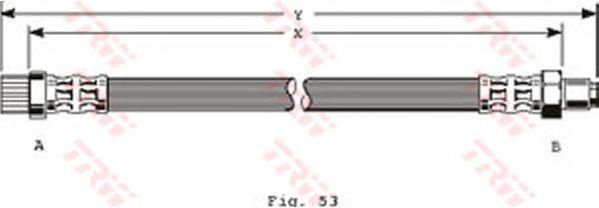 Тормозной шланг TRW PHB365