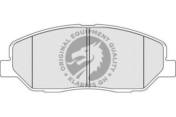 Тормозные колодки QH International BP1595