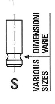 Впускной клапан FRECCIA R6698/SNT