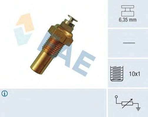 Датчик температуры охлаждающей  жидкости FAE 32100