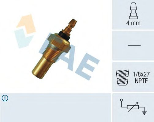 Датчик температуры охлаждающей  жидкости FAE 32460