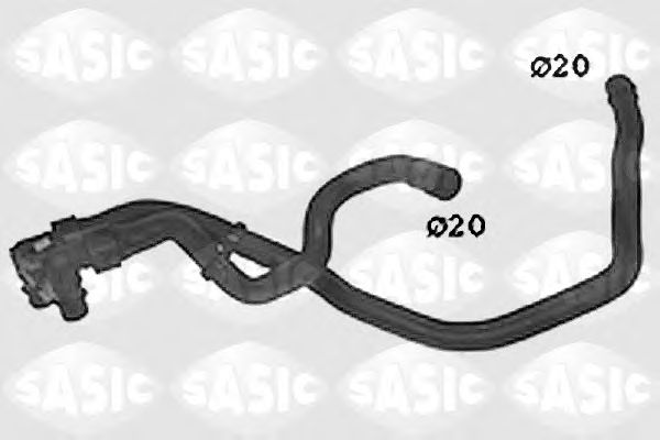 Шланг радиатора SASIC SWH0502