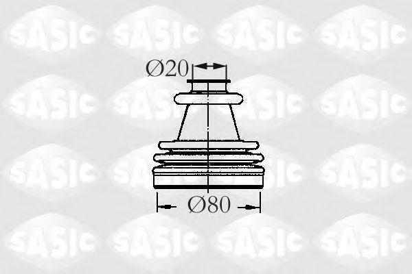Комплект пыльника ШРУСа SASIC 2933773