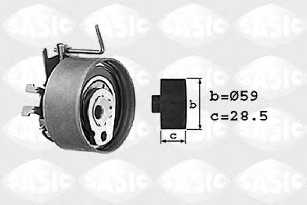 Натяжной ролик ремня ГРМ SASIC 1704010