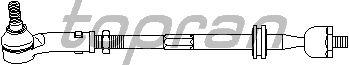 Рулевая тяга TOPRAN 113 674