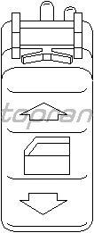 Кнопка стеклоподъемника TOPRAN 401 512
