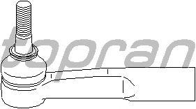 Наконечник рулевой тяги TOPRAN 206 890