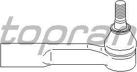 Наконечник рулевой тяги TOPRAN 206 895