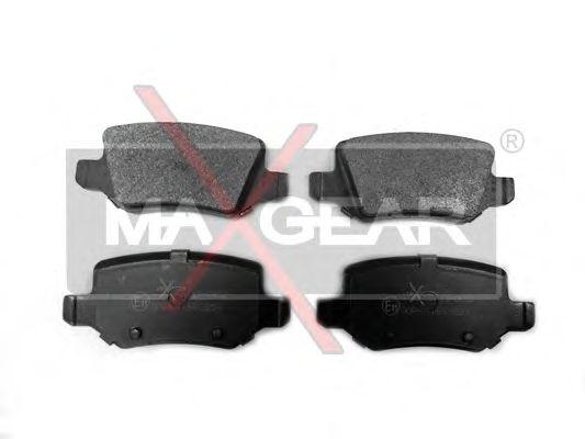 Тормозные колодки MAXGEAR 19-0452