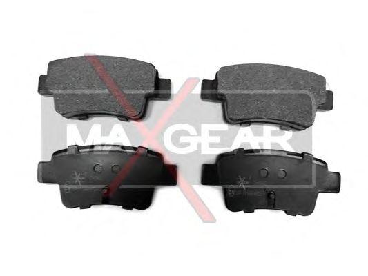 Тормозные колодки MAXGEAR 19-0463