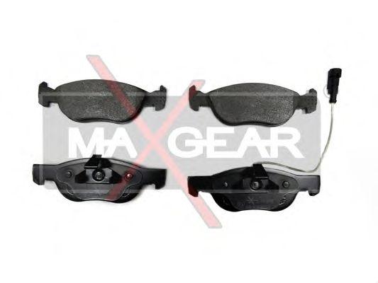 Тормозные колодки MAXGEAR 19-0655