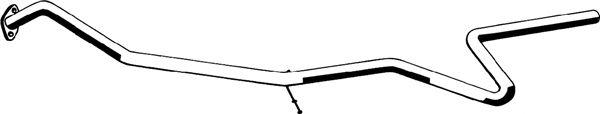 Труба выхлопного газа ASMET 07.182