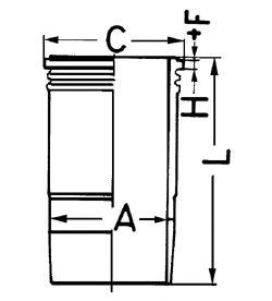 Гильза цилиндра KOLBENSCHMIDT 89389110
