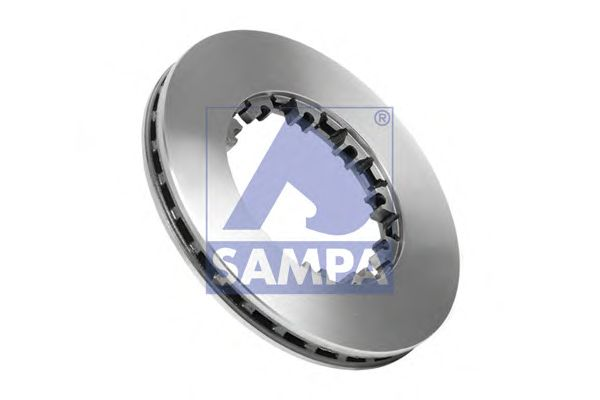 Тормозной диск SAMPA 050.390