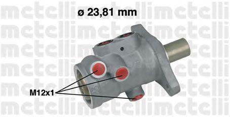Главный тормозной цилиндр METELLI 05-0556