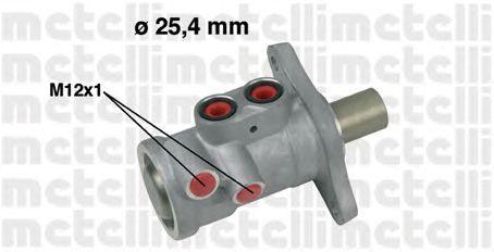 Главный тормозной цилиндр METELLI 05-0557