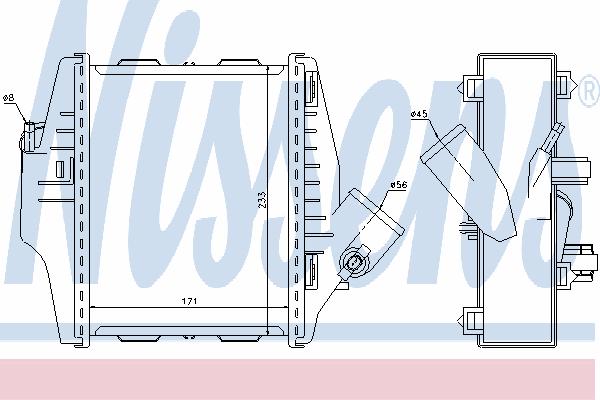 Интеркулер NISSENS 96579