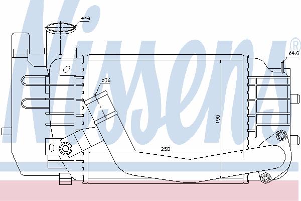 Интеркулер NISSENS 96565