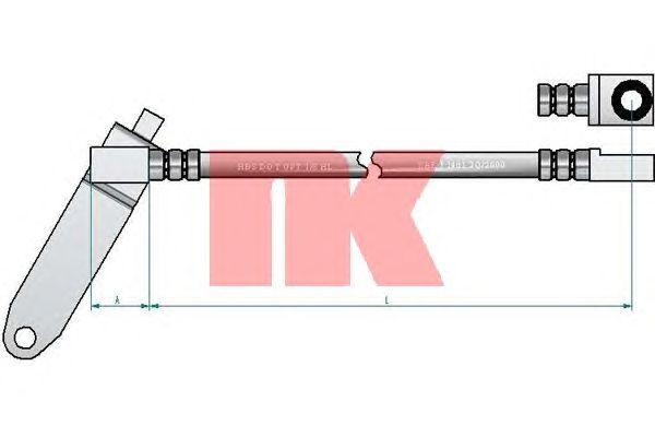 Тормозной шланг NK 8525140