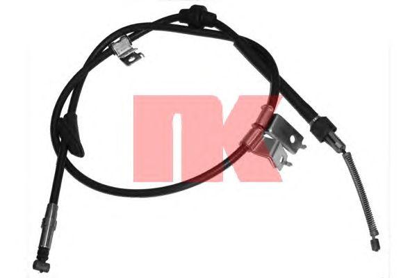 Трос ручника NK 904001