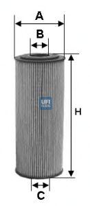 Масляный фильтр UFI 25.094.00