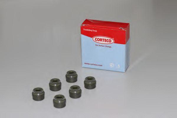 Комплект сальников клапанов CORTECO 19036106