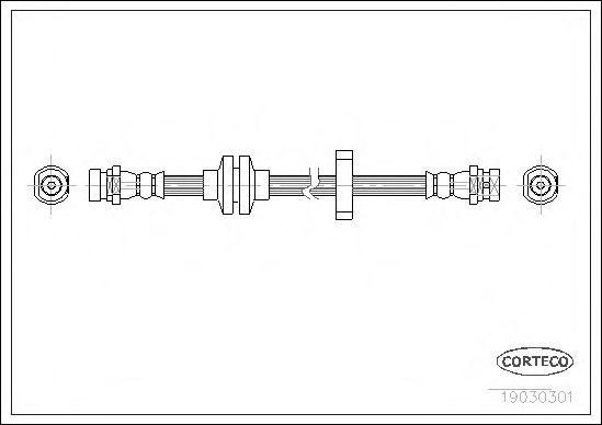 Тормозной шланг CORTECO 19030301