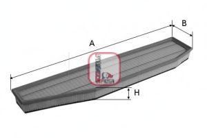Воздушный фильтр SOFIMA S 3395 A