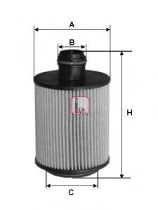 Масляный фильтр SOFIMA S 1079 PE