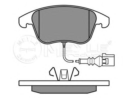 Тормозные колодки MEYLE 025 243 3219/W