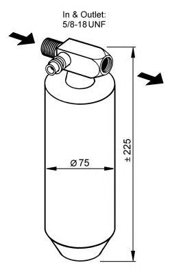 Осушитель кондиционера NRF 33079