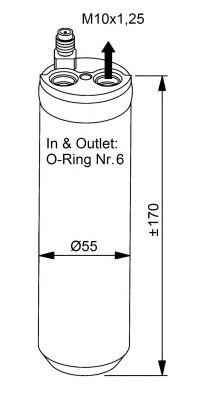 Осушитель кондиционера NRF 33206
