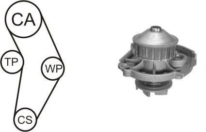 Помпа + комплект ГРМ AIRTEX WPK-152301