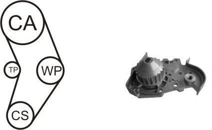 Помпа + комплект ГРМ AIRTEX WPK-157802
