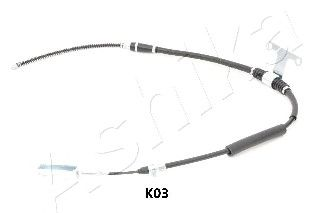 Трос ручника ASHIKA 131-0K-K03