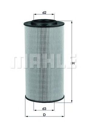Масляный фильтр MAHLE ORIGINAL OX 434D