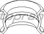 Втулка вилки переключения передач TOPRAN 109 708