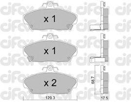 Тормозные колодки CIFAM 822-174-0