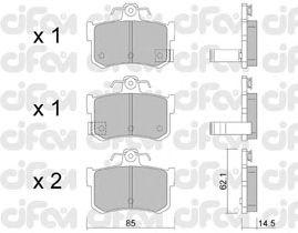 Тормозные колодки CIFAM 822-691-1