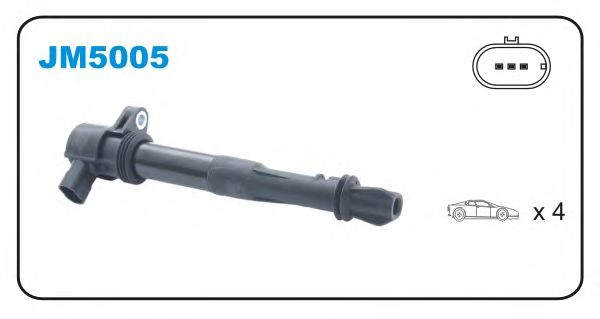 Катушка зажигания JANMOR JM5005