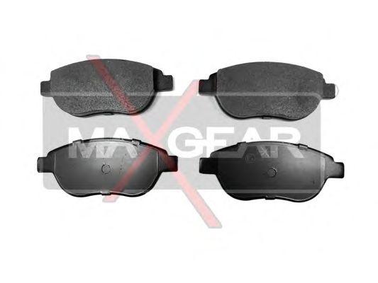 Тормозные колодки MAXGEAR 19-0576